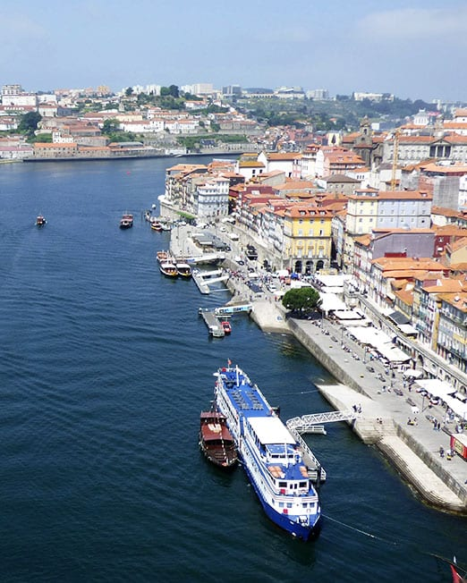 Departure from Porto