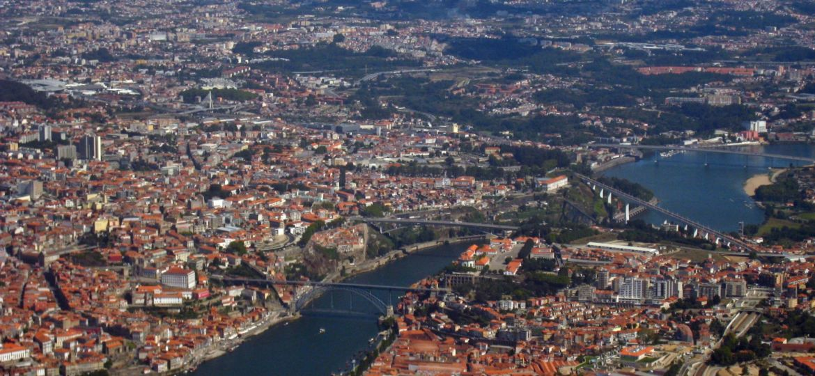 As seis pontes do Porto